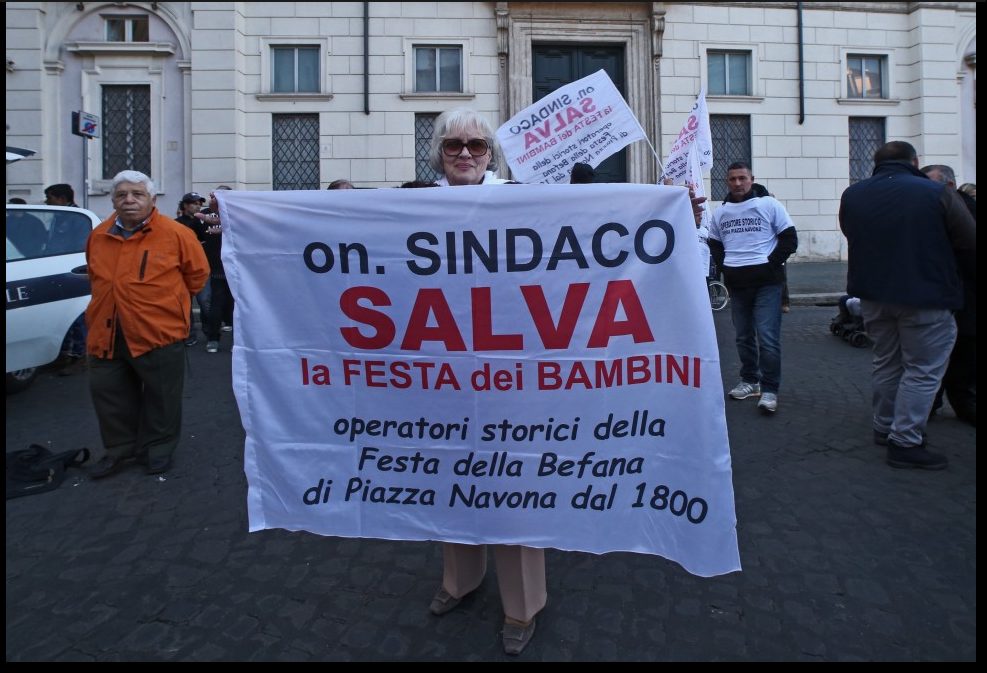 Immagine.Proteste Piazza Navona.6.ng