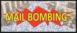 Mail Bombing.
