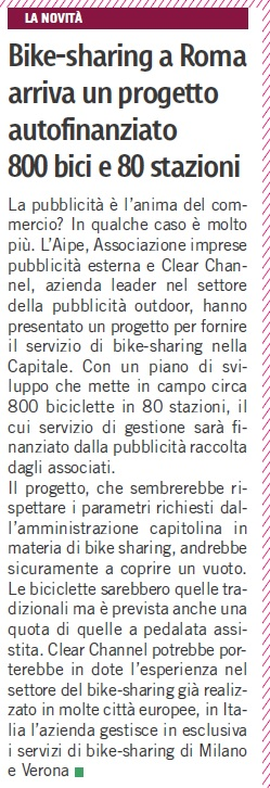 Progetto AIPE-Clear Channel
