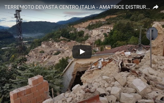 Video terremoto